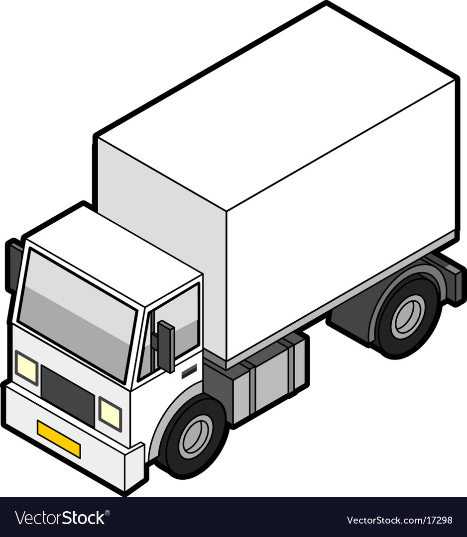 Delivery truck icon vector | Price: 1 Credit (USD $1)