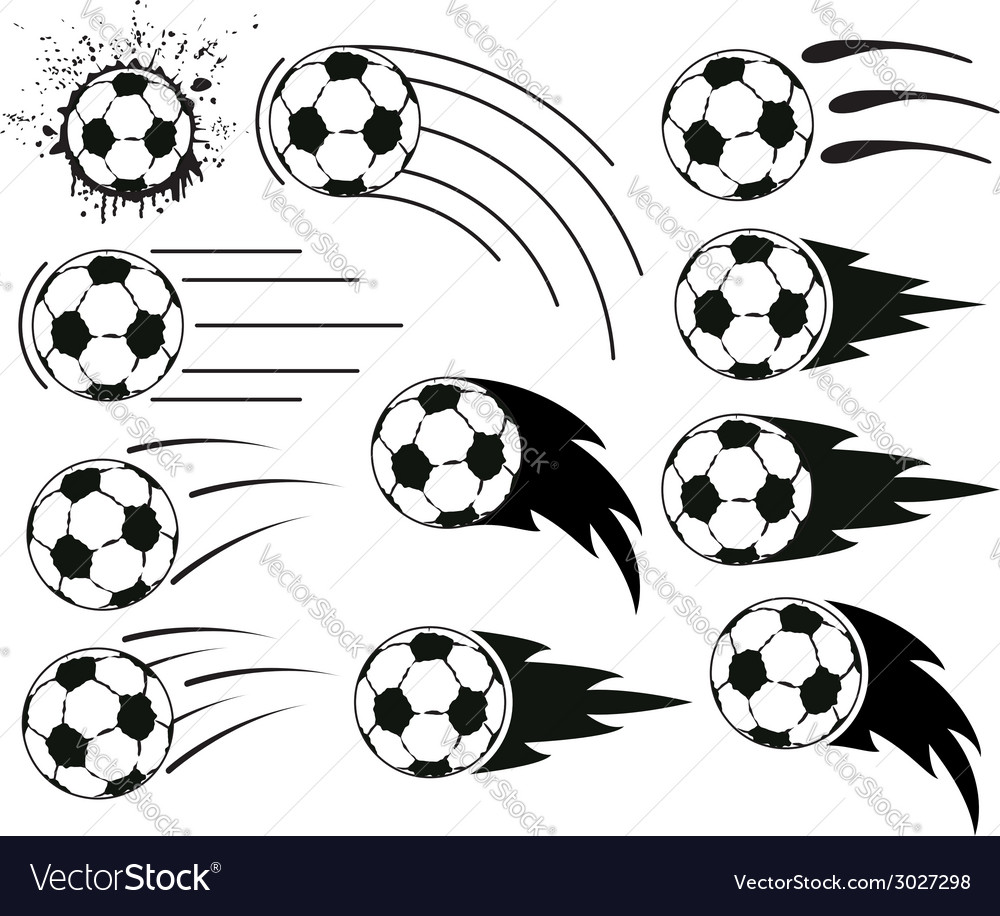 Flying balls vector | Price: 1 Credit (USD $1)