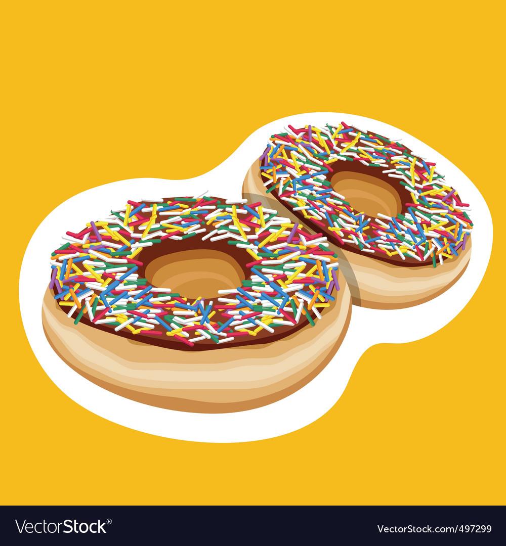 Doughnuts vector | Price: 3 Credit (USD $3)