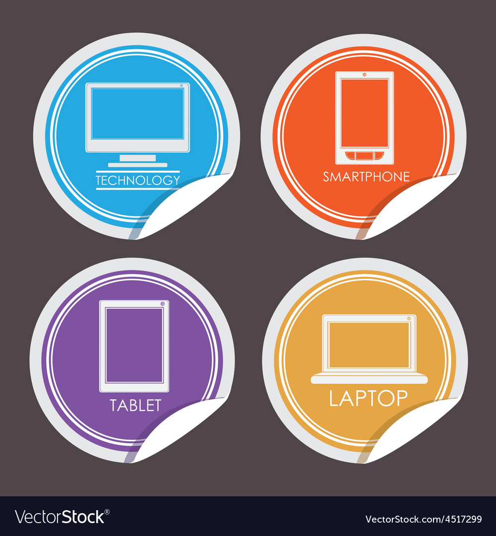 Gadget design vector | Price: 1 Credit (USD $1)