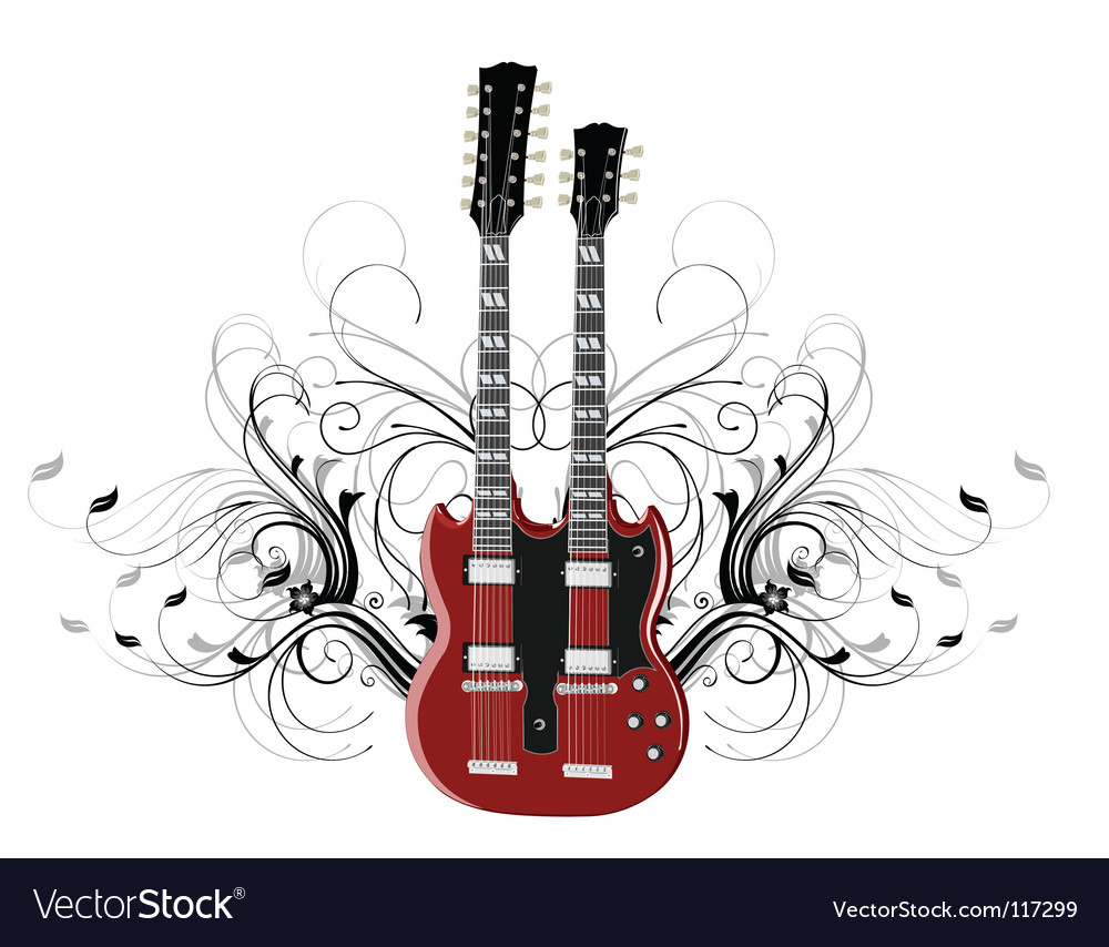 Guitar legends vector | Price: 1 Credit (USD $1)