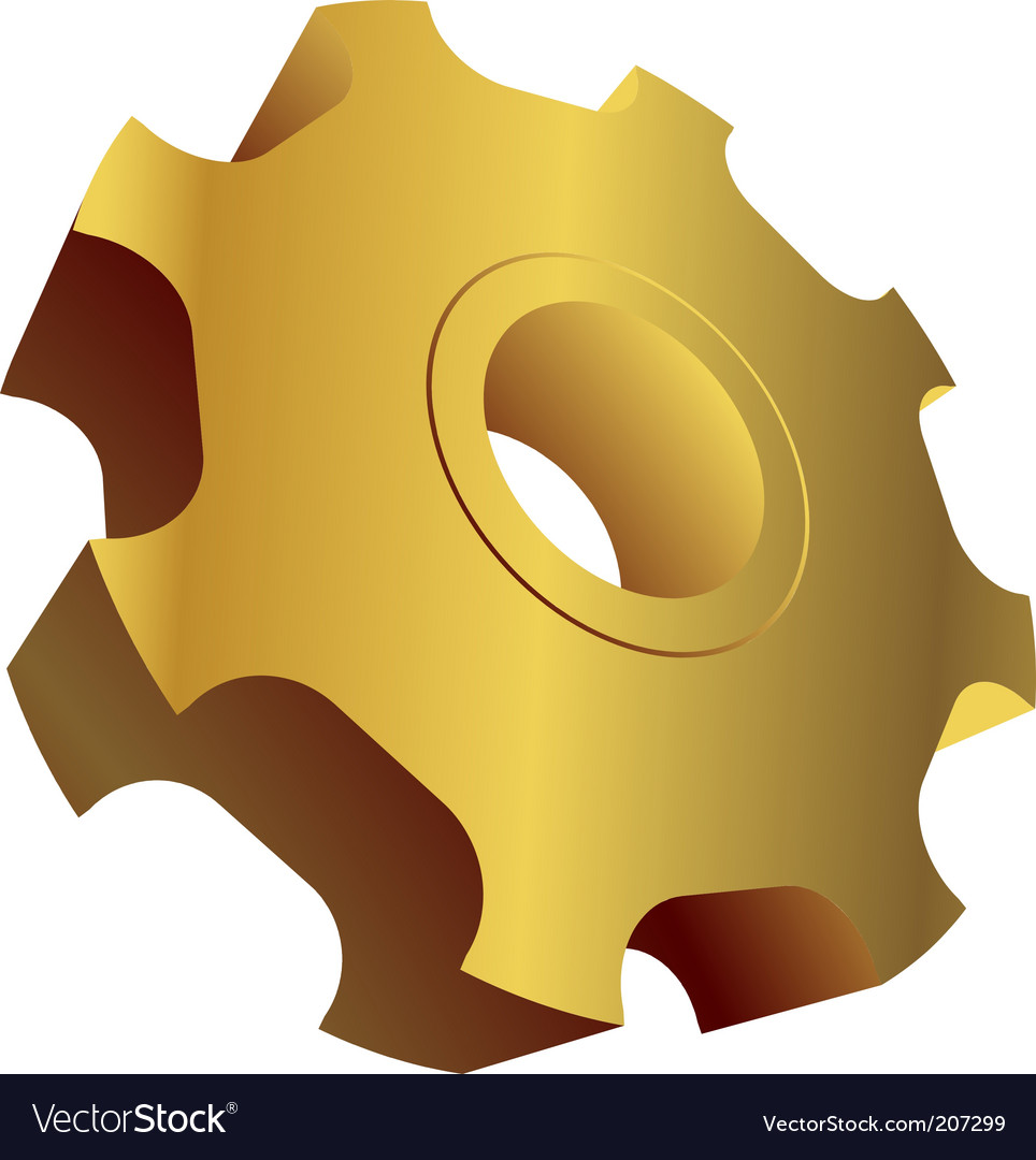 Object gear vector | Price: 1 Credit (USD $1)