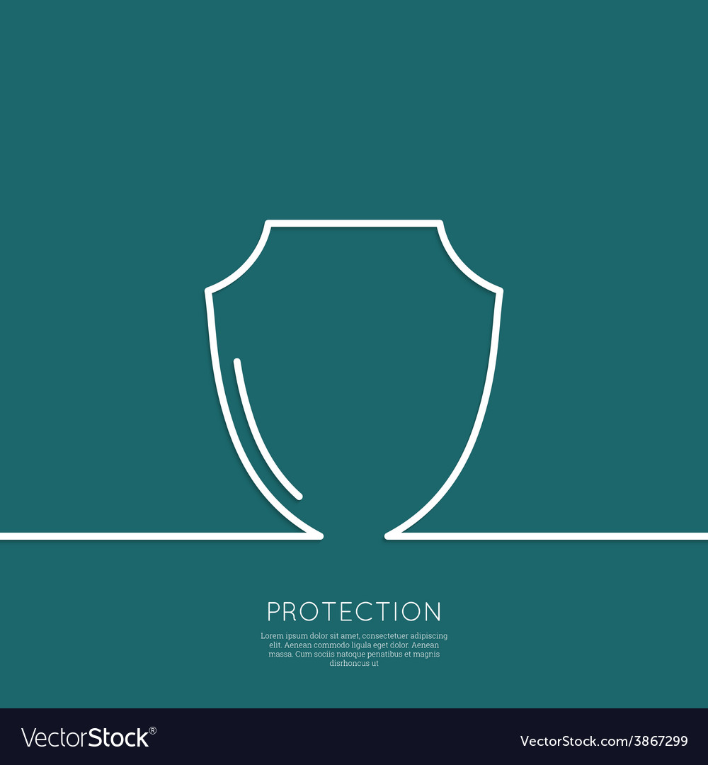 Shield symbol vector | Price: 1 Credit (USD $1)