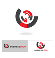 Abstract business logo and icon vector