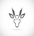 Image of an barking deer vector