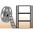 Filmstrips and roll vector