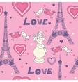 Love in paris vector