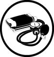 Blood pressure icon vector
