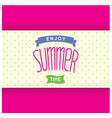 Abstract summer card template vector