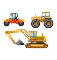 Road building vector