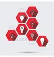 Modern idea infographic background vector