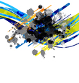Line abstract background design vector