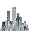 Modern city panorama vector
