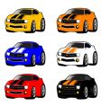 Mini cars vector