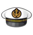 Captain cap vector