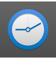 Clock icon eps10 vector
