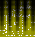 Circles black and yellow background vector
