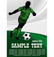 Football poster vector