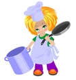 Cook boy vector