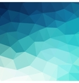 Abstract blue colorful geometric background vector