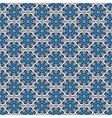 Ornate floral snowflakes seamless pattern vector