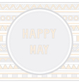 Happy may background1 vector