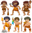 Caveman vector