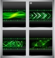 Smooth colorful abstract techno backgrounds vector