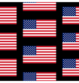Flag of the united states seamless pattern vector