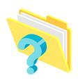 Icon file vector