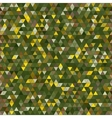 Colored triangle seamless pattern background vector