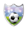 Soccer football badge emblem vector