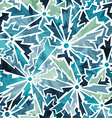 Cold color cracks seamless pattern vector