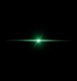 Abstract green beam light vector