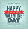 Valentines day design vector