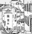 European street vector
