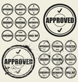 Business stamps set vector