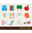 School elements vector