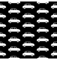 Car icon seamless pattern vector