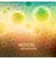 Medical background vector