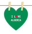 I love algeria6 vector