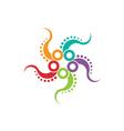 Octopus logo image vector