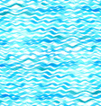Seamless pattern of watercolor waves vector