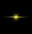 Abstract yellow beam light vector