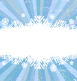 Snowflake backgrounds card vector