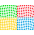 Tablecloth patterns vector