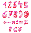 Love numbers vector