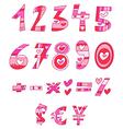 Love numbers vector