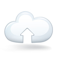 Upload cloud vector