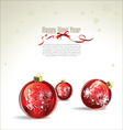 New year or christmas background vector